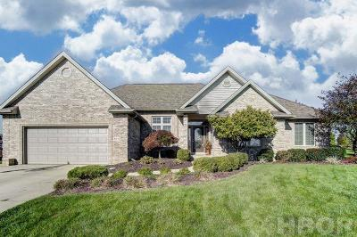 Findlay Single Family Home For Sale: 8164 Newberry Dr