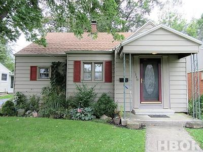 Findlay OH Single Family Home For Sale: $154,900