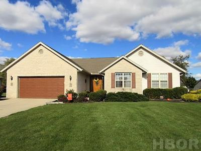 Findlay Single Family Home For Sale: 15400 Bear Creek Ct
