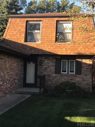 Findlay OH Condo/Townhouse For Sale: $88,500