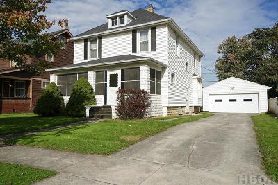 Fostoria Single Family Home For Sale: 226 W Jackson