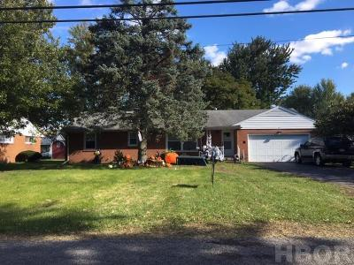 Findlay OH Single Family Home For Sale: $115,000