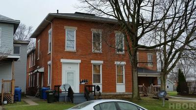 Tiffin Multi Family Home For Sale: 62 W Market