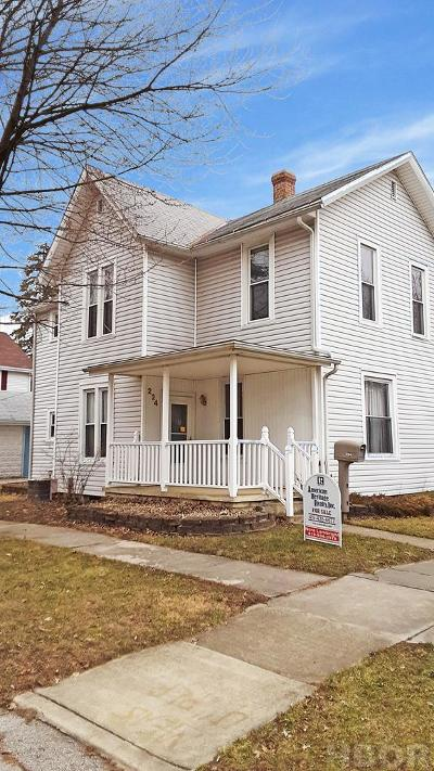 Fostoria Single Family Home For Sale: 224 N Union St.