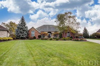Findlay Single Family Home For Sale: 1802 Lakeland Dr