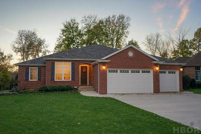 Findlay Single Family Home For Sale: 8130 Clearbrook Dr