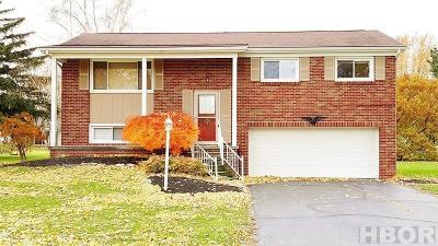 Fostoria Single Family Home For Sale: 1713 Walnut