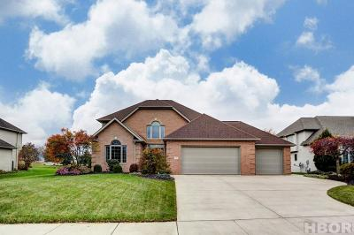 Findlay Single Family Home For Sale: 736 Meadowview Dr.
