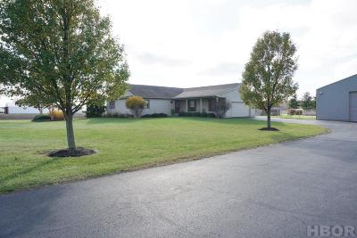 McComb Single Family Home For Sale: 6268 Township Rd 117