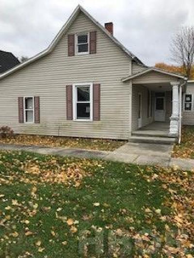 Single Family Home For Sale: 256 E Vance St