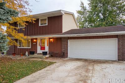 Findlay Single Family Home For Sale: 3106 Crosshill Dr