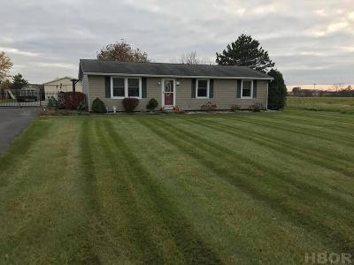 Arcadia OH Single Family Home For Sale: $154,900