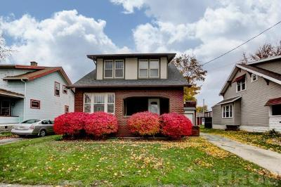 Findlay OH Single Family Home For Sale: $109,000