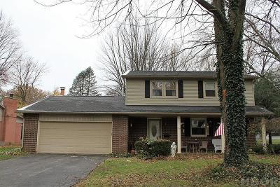 Findlay OH Single Family Home For Sale: $155,000