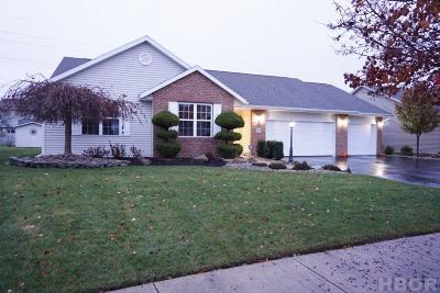 Findlay Single Family Home For Sale: 513 Flintlock Ct