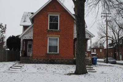 Fostoria Multi Family Home For Sale: 301-303 E Tiffin St