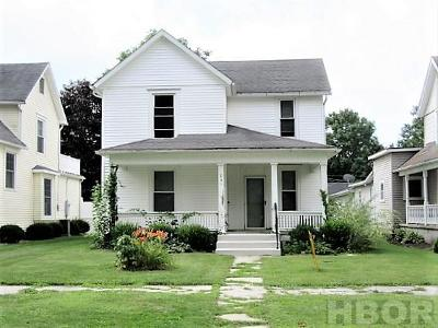 Findlay OH Single Family Home For Sale: $148,000