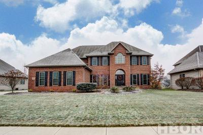 Single Family Home For Sale: 15541 Brookview Trail