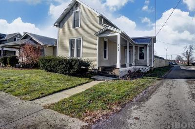 Findlay Single Family Home For Sale: 316 Portz Ave