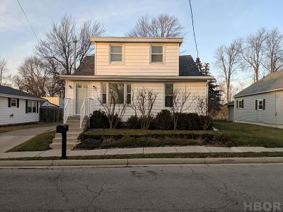 Findlay Single Family Home For Sale: 1120 1st St.