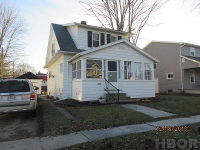 Fostoria Single Family Home For Sale: 617 W North