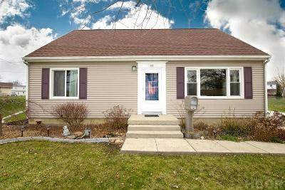Findlay Single Family Home For Sale: 323 Mona Ln