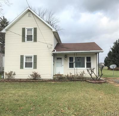 Findlay OH Single Family Home For Sale: $109,975