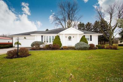 Findlay Single Family Home For Sale: 15875 State Rt 568