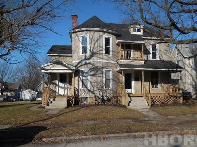 Fostoria Multi Family Home For Sale: 342 W Tiffin St