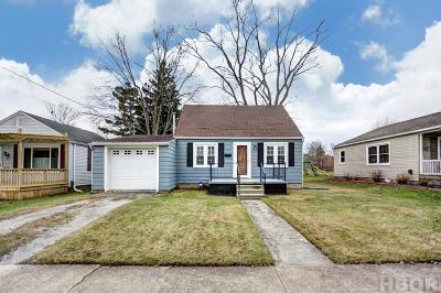 Findlay OH Single Family Home For Sale: $93,900