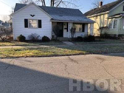 Findlay OH Single Family Home For Sale: $77,500