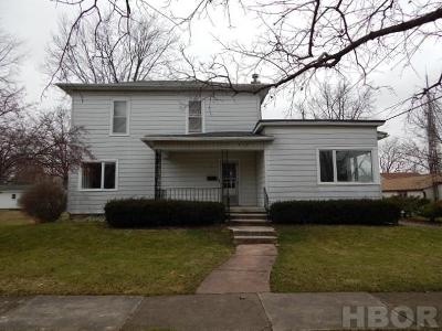 Findlay OH Single Family Home For Sale: $100,000