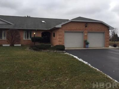Findlay OH Condo/Townhouse For Sale: $275,000