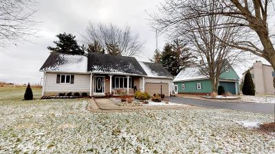 Tiffin Single Family Home For Sale: 160 W County Road 6
