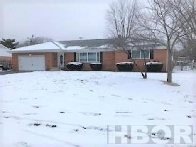 Findlay OH Single Family Home For Sale: $197,500