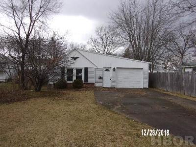 Findlay OH Single Family Home For Sale: $15,000