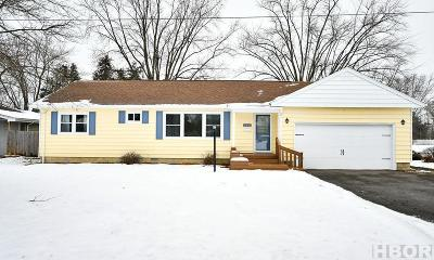 Findlay Single Family Home For Sale: 640 2nd St