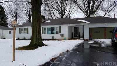 Tiffin Single Family Home For Sale: 84 Gibson Court