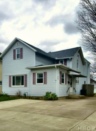 Findlay Single Family Home For Sale: 717 N Cory St