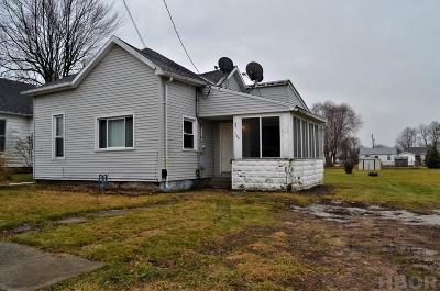 Findlay OH Single Family Home For Sale: $63,000