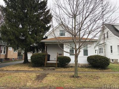 Fostoria Single Family Home For Sale: 820 Cory