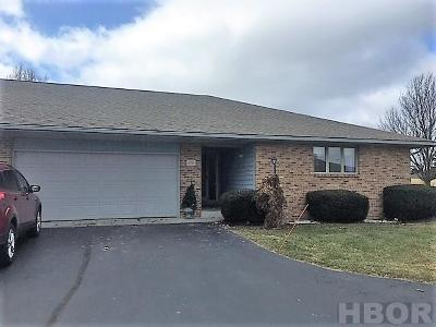 Findlay OH Condo/Townhouse For Sale: $174,900