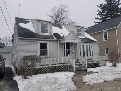 Findlay OH Single Family Home For Sale: $39,900