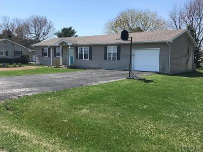 Findlay Single Family Home For Sale: 11054 County Road 54