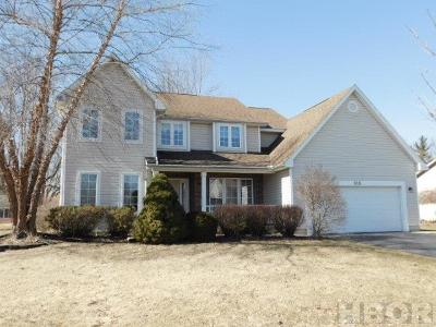 Findlay Single Family Home For Sale: 318 Fairmont Dr