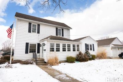 Findlay OH Single Family Home For Sale: $129,900
