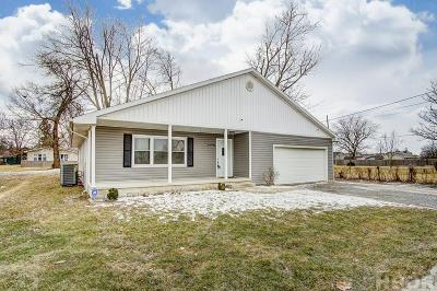 Findlay OH Single Family Home For Sale: $162,900