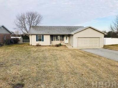 Findlay Single Family Home For Sale: 2630 Northridge Rd