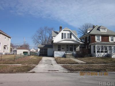 Single Family Home For Sale: 528 W Tiffin St