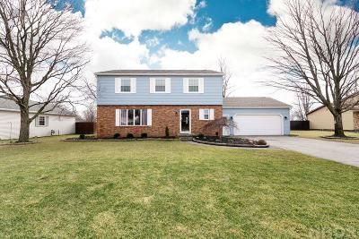 Findlay Single Family Home For Sale: 611 Coventry Dr